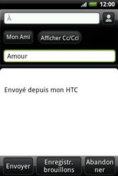 HTC A510e Wildfire S - E-mail - envoyer un e-mail - Étape 6