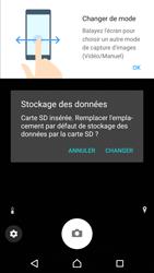 Sony Xperia XZ Premium - Photos, vidéos, musique - Créer une vidéo - Étape 5