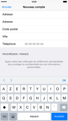 Apple iPhone 6 Plus - Applications - Créer un compte - Étape 23