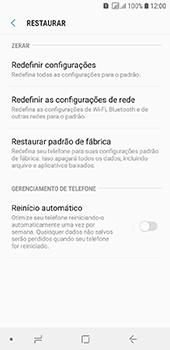 Samsung Galaxy J6 - Funções básicas - Como restaurar as configurações originais do seu aparelho - Etapa 6