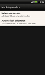 HTC C525u One SV - Netwerk - Handmatig netwerk selecteren - Stap 9