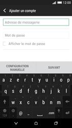 HTC Desire 620 - E-mail - Configuration manuelle - Étape 6