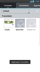 LG P875 Optimus F5 - Internet - Internet gebruiken - Stap 12
