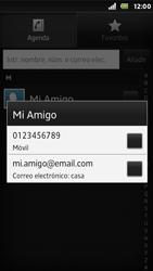 Sony Xperia U - Mensajería - Escribir y enviar un mensaje multimedia - Paso 7