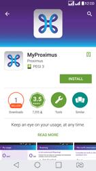 LG K8 - Applications - MyProximus - Step 8