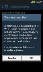 Samsung Galaxy Core Plus - Internet - Activer ou désactiver - Étape 7