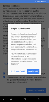 Samsung Galaxy S8 Plus - Android Oreo - Applications - Créer un compte - Étape 17