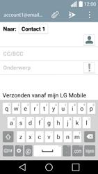 LG H320 Leon 3G - E-mail - E-mail versturen - Stap 8
