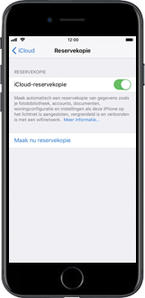 Apple iPhone 7 iOS 11 - Instellingen aanpassen - Back-up maken in je account - Stap 10