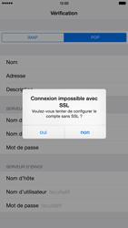 Apple iPhone 6 Plus iOS 8 - E-mails - Ajouter ou modifier un compte e-mail - Étape 15