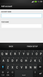 HTC One Mini - E-mail - Manual configuration - Step 18
