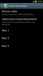 Samsung I9300 Galaxy S III - Red - Seleccionar una red - Paso 9