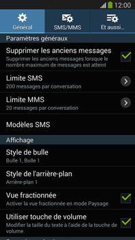 Samsung N9005 Galaxy Note III LTE - SMS - configuration manuelle - Étape 6