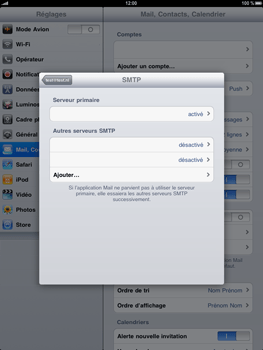 Apple iPad - E-mail - Configuration manuelle - Étape 11