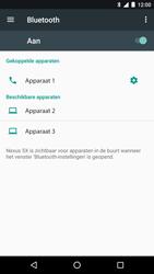 LG Nexus 5x - Android Nougat - Bluetooth - Headset, carkit verbinding - Stap 8