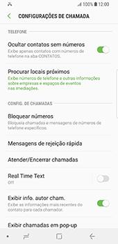 Samsung Galaxy S9 - Chamadas - Como bloquear chamadas de um número -  7