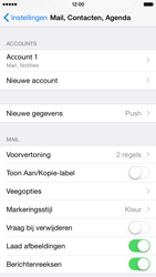 Apple iPhone 6 iOS 8 - E-mail - e-mail instellen: IMAP (aanbevolen) - Stap 28