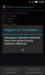 Alcatel OT-4033X Pop C3 - Paramètres - reçus par SMS - Étape 10