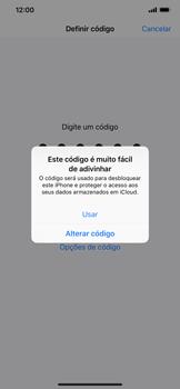 Apple iPhone XR - Segurança - Como ativar o código de bloqueio do ecrã -  6