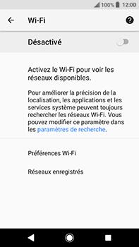 Sony Xperia XA2 Ultra - Internet et connexion - Accéder au réseau Wi-Fi - Étape 6
