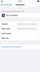 Apple iphone-8-met-ios-13-model-a1905 - Contacten en data - Contacten kopiëren van SIM naar toestel - Stap 4