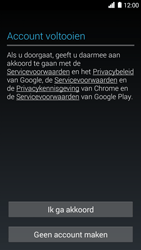 Huawei Ascend G6 3G (Model G6-U10) - Applicaties - Account aanmaken - Stap 14