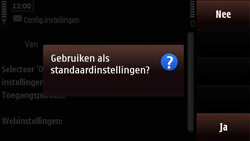 Nokia N97 Mini - Internet - Automatisch instellen - Stap 5