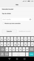 Huawei Y6 (2017) - WiFi - Conectarse a una red WiFi - Paso 6