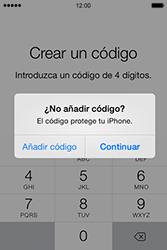 Apple iPhone 4S iOS 7 - Primeros pasos - Activar el equipo - Paso 15