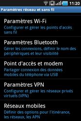 Samsung Galaxy Ace - Internet et connexion - Utiliser le mode modem par USB - Étape 5
