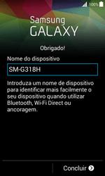 Samsung Galaxy Trend 2 Lite - Primeiros passos - Como ligar o telemóvel pela primeira vez -  14