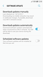 Samsung A520F Galaxy A5 (2017) - Android Nougat - Device - Software update - Step 6