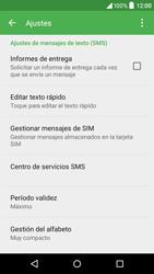 Alcatel Idol 3 - Mensajería - Configurar el equipo para mensajes de texto - Paso 6