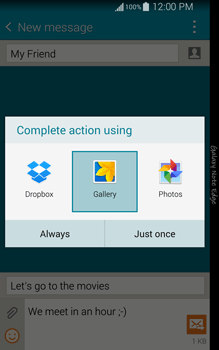 Samsung N915FY Galaxy Note Edge - Mms - Sending a picture message - Step 16
