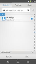 Sony Xperia M2 - E-mail - Escribir y enviar un correo electrónico - Paso 7