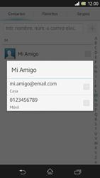Sony Xperia Z - Mensajería - Escribir y enviar un mensaje multimedia - Paso 7