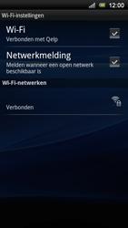 Sony Ericsson Xperia Neo V - Wifi - handmatig instellen - Stap 9