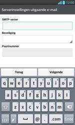 LG E975 Optimus G - E-mail - Handmatig instellen - Stap 14