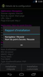 Acer Liquid Jade S - Paramètres - Reçus par SMS - Étape 7