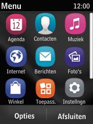 Nokia Asha 203 - Internet - Hoe te internetten - Stap 2