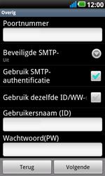 LG P990 Optimus 2X Speed - E-mail - Handmatig instellen - Stap 11