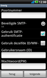 LG P990 Optimus 2X Speed - E-mail - e-mail instellen: POP3 - Stap 10