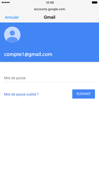 Apple Apple iPhone 6 Plus iOS 10 - E-mail - Configuration manuelle (gmail) - Étape 7