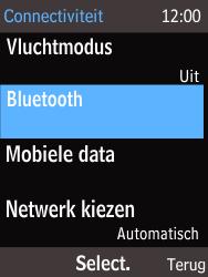 Nokia 225 (Type RM-1012) - Bluetooth - Headset, carkit verbinding - Stap 5
