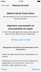 Apple iPhone 5c iOS 9 - Applicaties - Account aanmaken - Stap 10