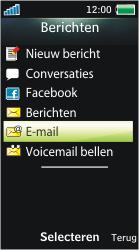 Sony Ericsson U10i Aino - E-mail - Handmatig instellen - Stap 5