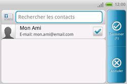 HTC A810e ChaCha - E-mail - envoyer un e-mail - Étape 5