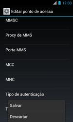 Motorola XT621 Primus Ferrari - Internet (APN) - Como configurar a internet do seu aparelho (APN Nextel) - Etapa 16