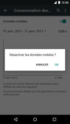 Motorola Moto E (1st Gen) (Lollipop) - Internet et connexion - Désactiver la connexion Internet - Étape 6