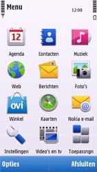 Nokia C6-00 - Voicemail - handmatig instellen - Stap 4
